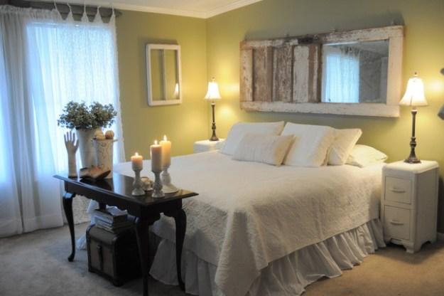 old chippy door headboard - eclectic - bedroom - new orleans -