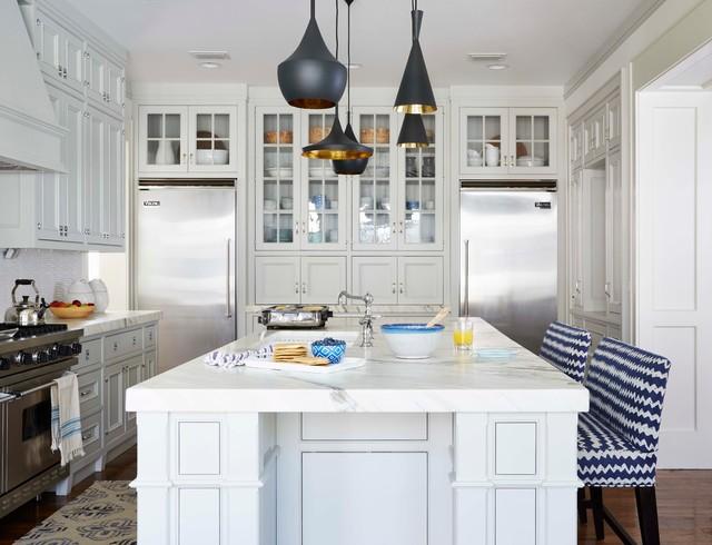 Lemon Street beach-style-kitchen