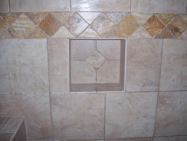 Shower Shampoo Box Inserts Traditional Kansas City