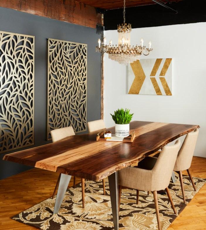 Modern dining room