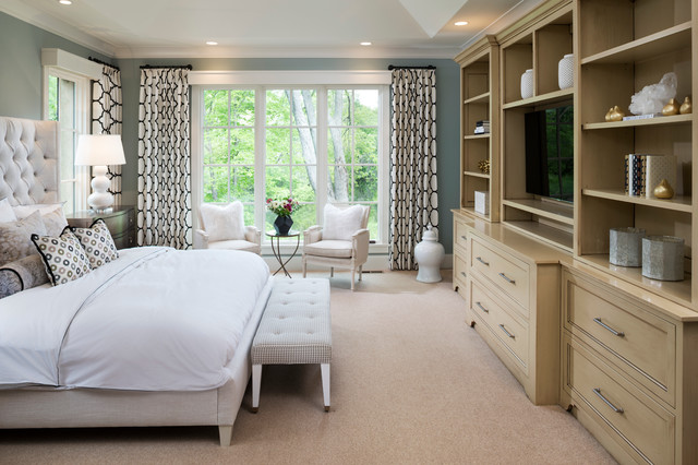 New French Country traditional-bedroom