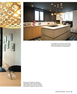Parution magazine Cuisines & Bains - Sep/Oct 2019 contemporain