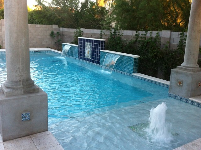 Ceramic Tile Home Projects Traditional Pool Orlando