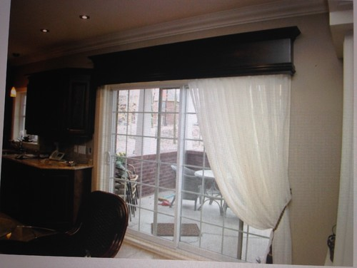 Need Help With Kitchen Sliding Door And Window Treatment