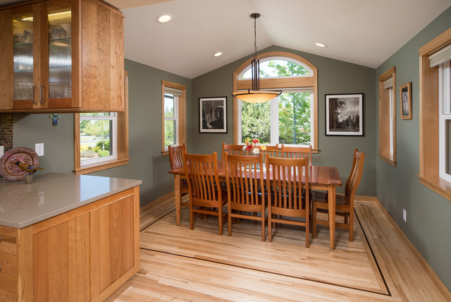 Kitchen Remodel With Dining Room Addition Transitional