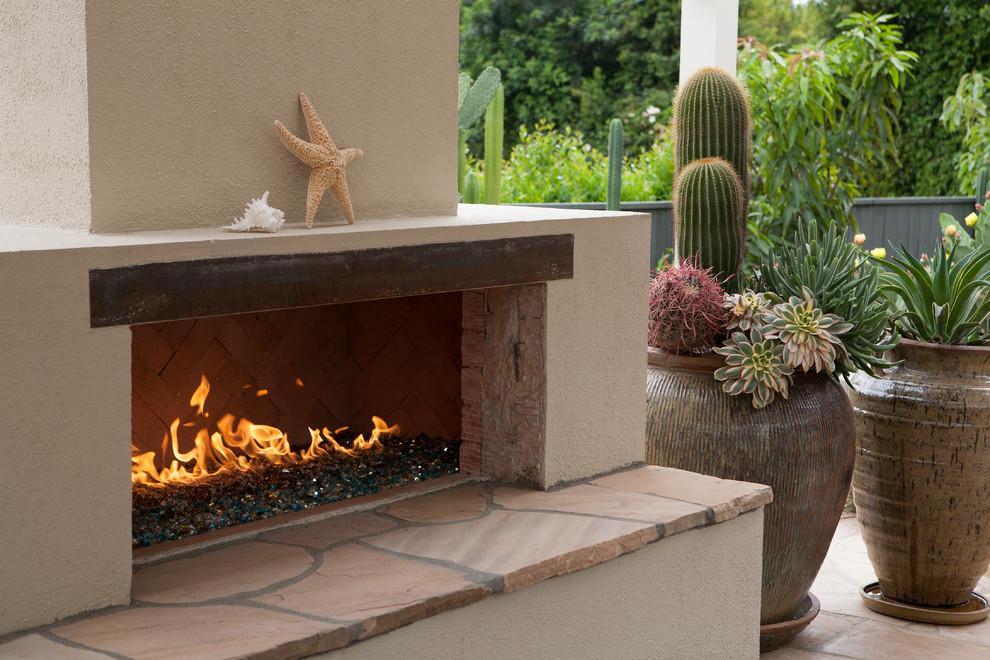 Arcadia Dry Garden - Transitional - Patio - Los Angeles ... on Arcadia Backyard Designs id=98135