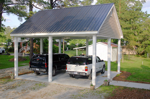 What Are The Dimensions On A 2 Car Carport