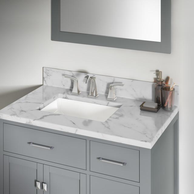 12 x16 x7 5 porcelain rectangular undermount bathroom vanity sink