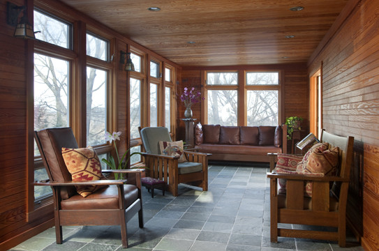 Four Seasons In Jamaica Plain Traditional Porch