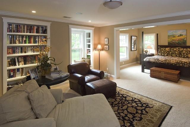 Master Bedroom Sitting Room Traditional