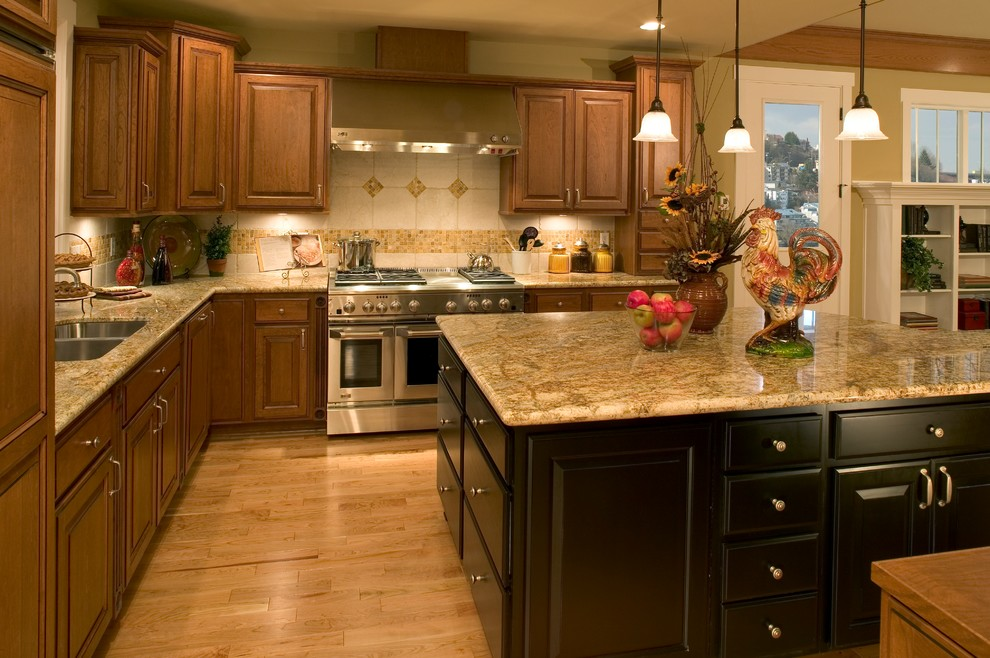 Madison Park Model Home - Traditional - Kitchen - Seattle ... on Model Kitchens  id=37276