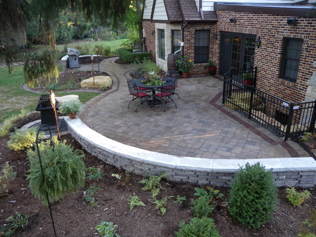 Unilock Paver Patio - Traditional - Patio - Other - by ... on Unilock Patio Ideas id=62189