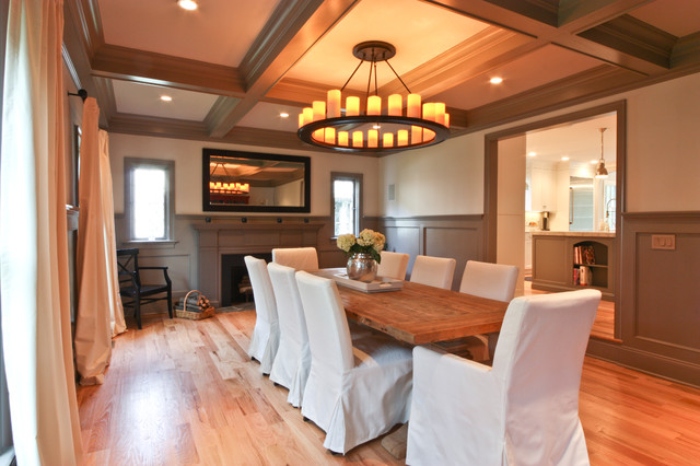 Casual Dining In A Formal Setting Traditional Dining