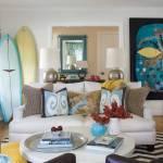 Beach Cottage Living Room Houzz