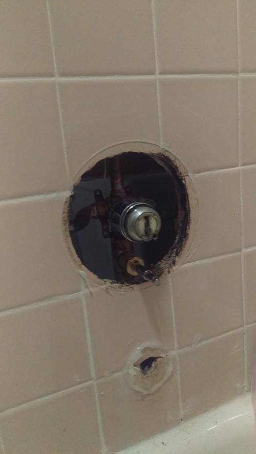 Help Replacing Bathtub FaucetDiverter Valve