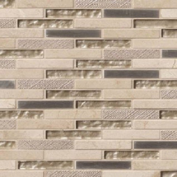 glass stone mosaic tile backsplash