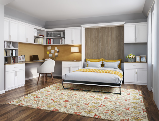 Custom Storage Solutions traditional-home-office