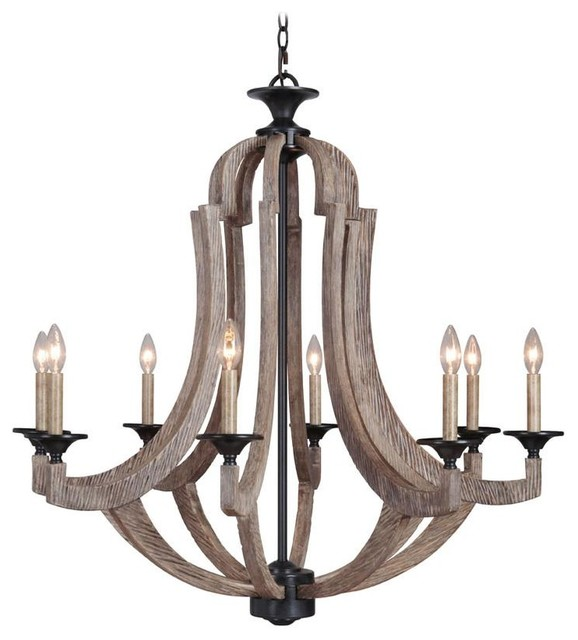 Jeremiah Lighting 35128 Wp Winton Chandelier Weathered Pine Bronze Contemporary Chandeliers