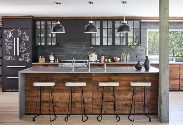 Modern Farm House contemporary-kitchen