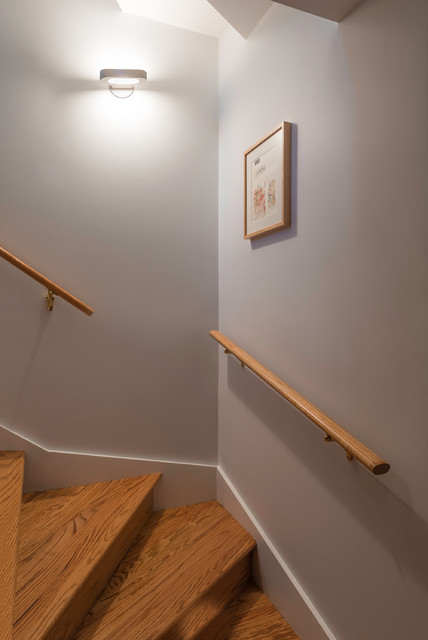 Talo Halogen Mini 21 Wall Light By Artemide Transitional Staircase Chicago By Lightology