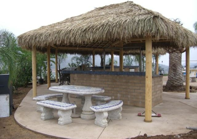 Palapas - Tropical - san diego - by Backyard X-Scapes Inc. on Palapa Bar Backyard id=70545