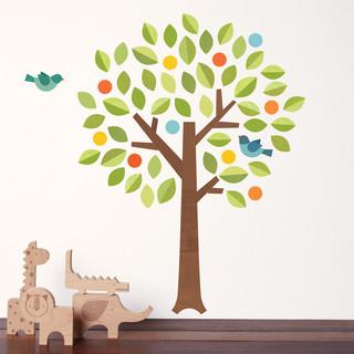 Polka Dot Tree Wall Decal
