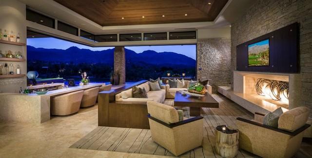 Custom Home Palm Desert-indoor outdoor living ... on Custom Outdoor Living id=51678