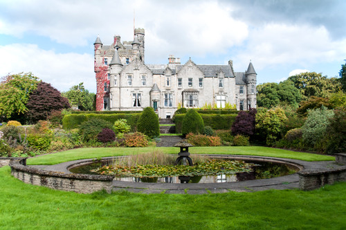 Living in a Castle in Glasgow