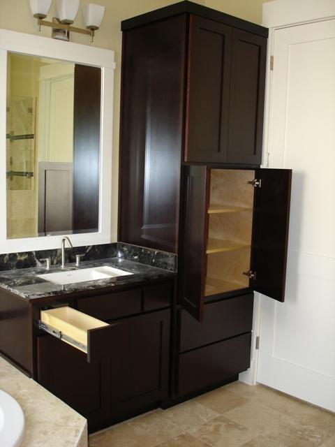 bath linen-vanity - contemporary - bathroom - houston - by