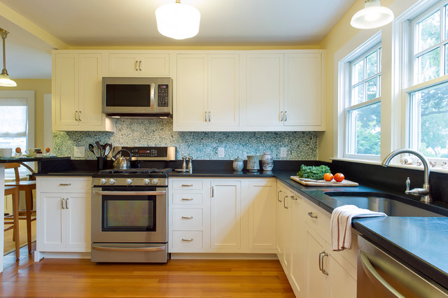 Cape Cod Beach House Remodel Beach Style Kitchen