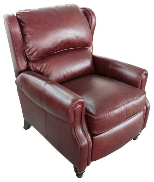 BarcaLounger Treyburn II Leather Recliner - Modern ... on Barcalounger Outdoor Living id=12716