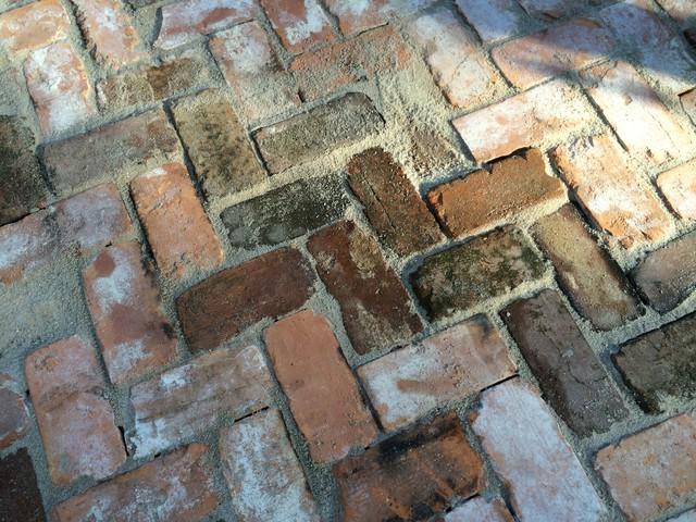reclaimed brick brings history and