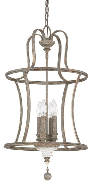 austin allen co zoe 4 light french country pendant 9a200a french antique