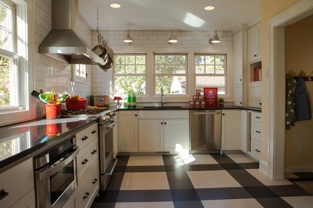 Retro Minneapolis Kitchen traditional-kitchen