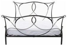 Primitive Sienna Iron Bed, Queen