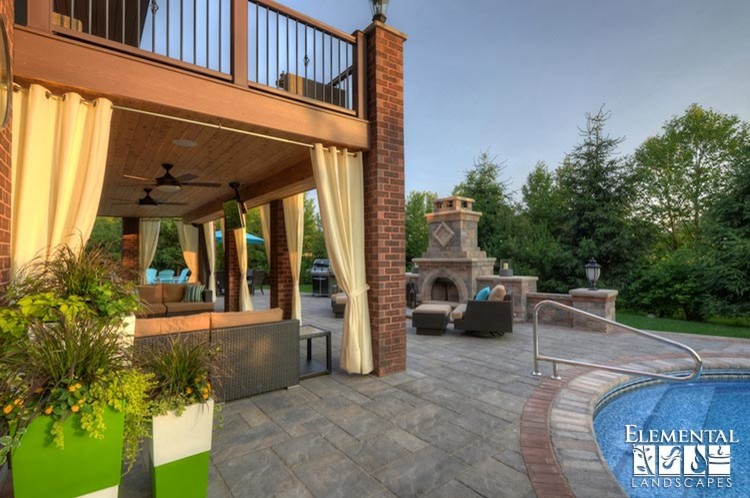 Foxborough Pool and Outdoor Living - Contemporary - Patio ... on Outdoor Living Ltd  id=85400
