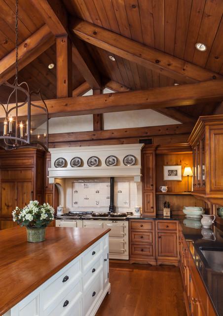 Country Residence farmhouse-kitchen