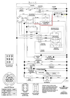 Cub Cadet Lt1046 Wiring Diagram | prandofacilco