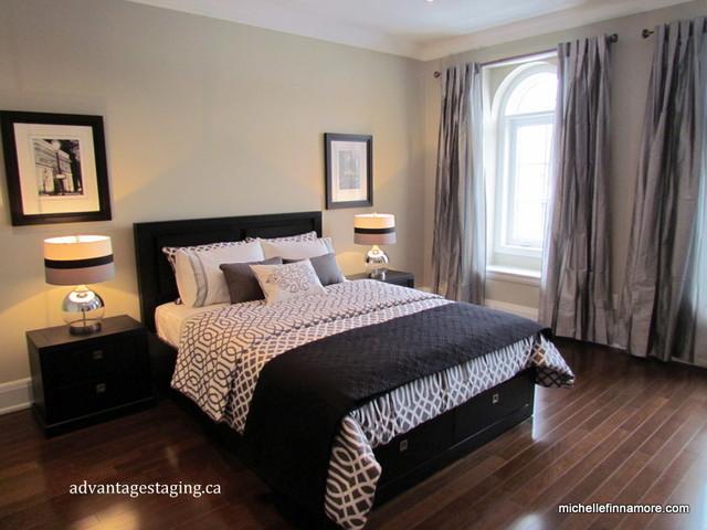Terra Moda - Model Home Master Bedroom - Modern - Bedroom ... on Model Bedroom Design  id=16786