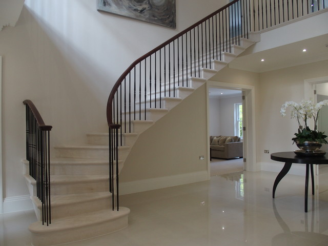 Ascot Country House Modern Staircase Other By The