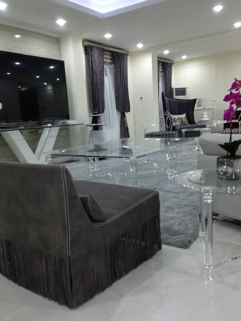 Banana Island Lagos Nigeria Contemporary Living Room