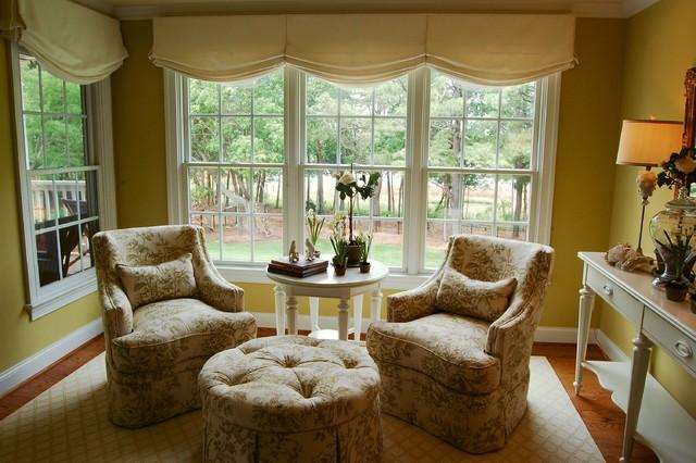 Sitting Area Of Master Suite Traditional Bedroom Richmond By Lori Bjorkman Interior Design