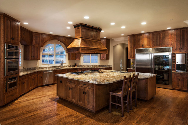 Mountain Chateau Traditional Kitchen Sacramento By