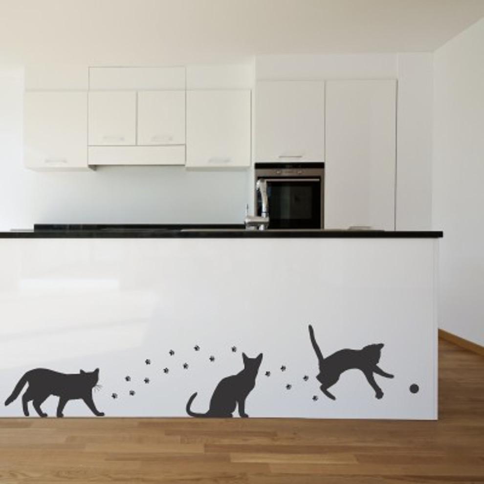Decora le pareti della cameretta dei bambini con gli stickers murali. Adesivi Murali Gatti Giocosi Modern Milan By Stickers Murali Houzz