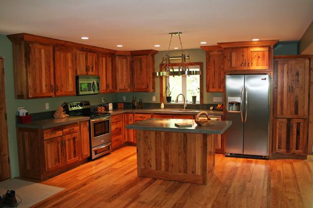 Wormy chestnut kitchen cabinets for American woodcraft kitchen cabinets