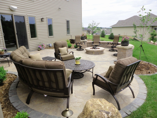 Paver Patio & Fire Pit on Pavers Patio With Fire Pit id=94977