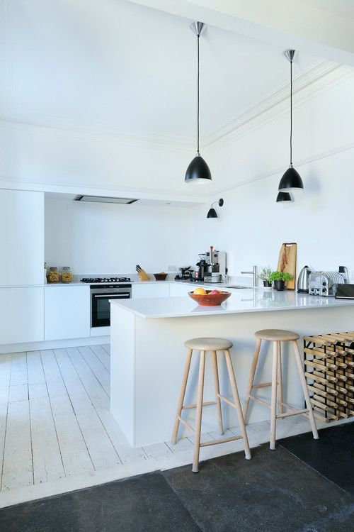 South Crown Street Contemporary Kitchen