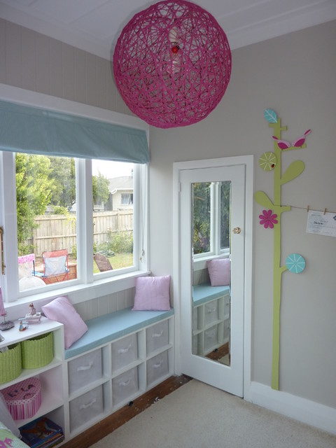 Small girl's bedroom - Contemporary - Kids - Auckland on Bedroom Ideas For Girls Small Room  id=93552