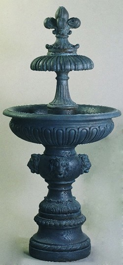 victorian garden fountain Piazza Veneta Outdoor Water Fountain - Victorian - Outdoor
