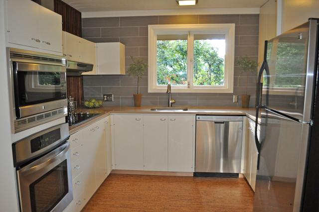 Mid-Century Kitchen remodel - Modern - Kitchen - Portland ... on Kitchen Remodel Modern  id=49308